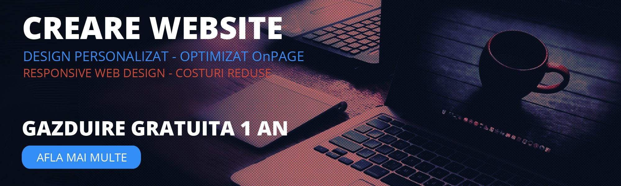 Creare Realizare Website Profesional